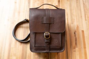 Brown Leather Expedition Bag