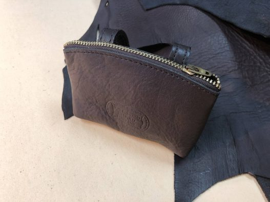 Buffalo Leather Belt Pouch