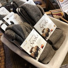 Buffalo Wool Socks