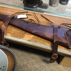 Buffalo Leather Rifle Scabbard