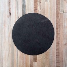 Leather Lamp Base Protective Pad - Made in USA