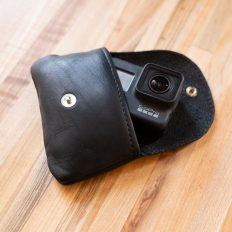 GoPro Hero - Handmade Black Leather Case