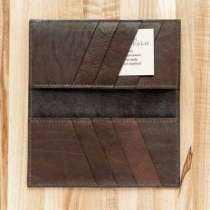 Cowboy Leather Wallet - Inside Credit Card Pockets and Bill Slots
